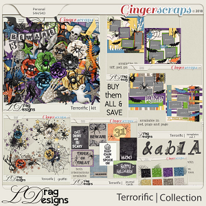 Terror-ific: The Collection  by LDragDesigns