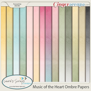 Music of the Heart Ombre Papers