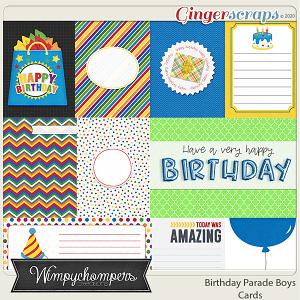 Birthday Parade- Boys Cards