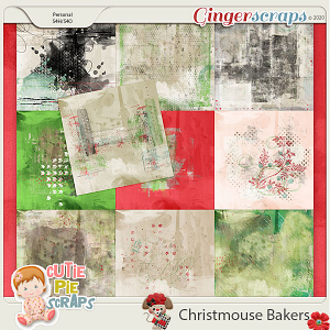 Christmouse Bakers Painted Papers
