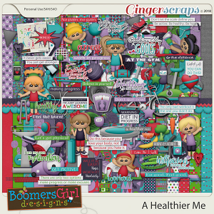 A Healthier Me by BoomersGirl Designs