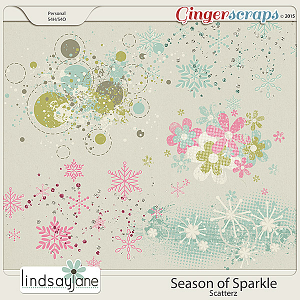 Season of Sparkle Scatterz by Lindsay Jane