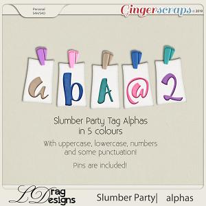 Slumber Party: Alphas by LDragDesigns
