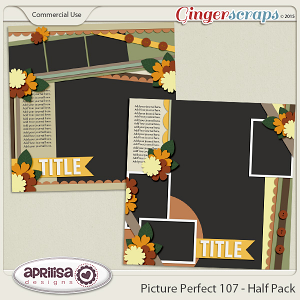 Picture Perfect 107 - Half Pack