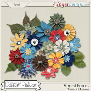 Armed Forces - Flower Pack by Connie Prince