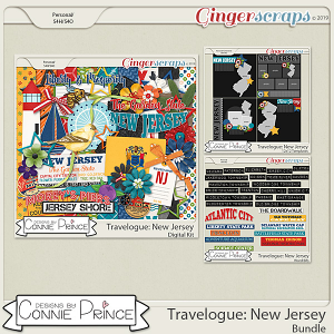 Travelogue New Jersey - Bundle Pack by Connie Prince