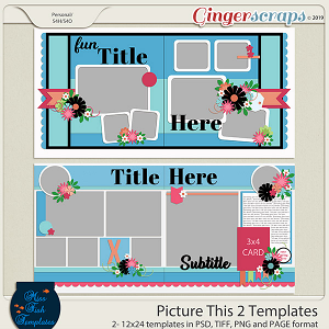 Picture This 2 Templates by Miss Fish