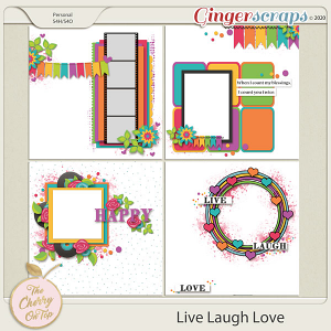 The Cherry On Top Live Laugh Love Templates