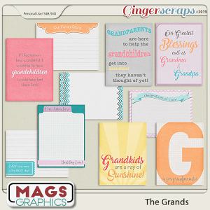 The Grands JOURNAL CARDS by MagsGraphics