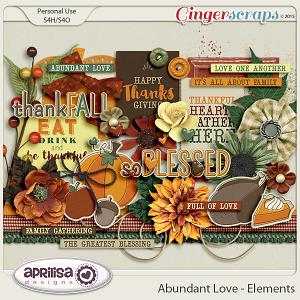 Abundant Love - Elements by Aprilisa Designs