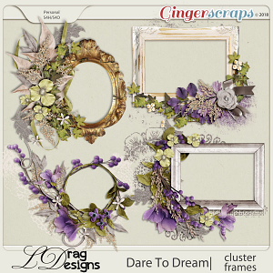 Dare To Dream: Cluster Frames by LDragDesigns