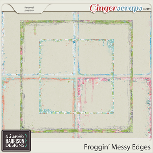 Froggin' Messy Edges by Aimee Harrison