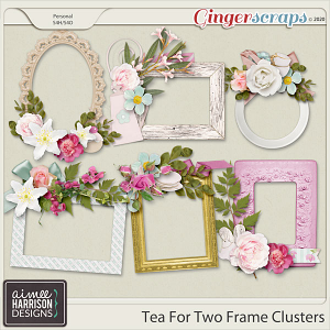Tea for Two Frame Clusters by Aimee Harrison