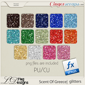 Scent Of Greece: Glitterstyles by LDragDesigns
