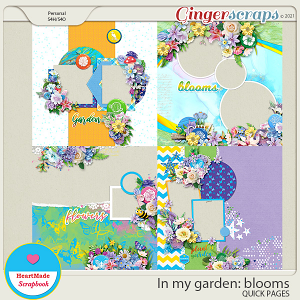 In my garden: blooms - quick pages
