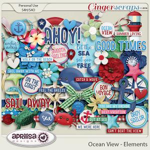 Ocean View - Elements by Aprilisa Designs