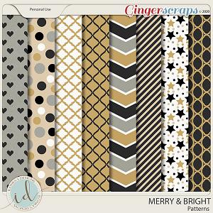 Merry & Bright Patterns by Ilonka's Designs