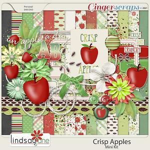 Crisp Apples by Lindsay Jane