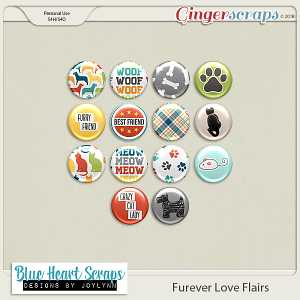 Furever Love Flair Pack