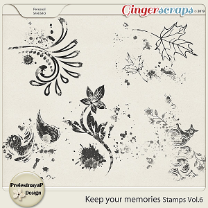 Keep your memories Stamps Vol.6