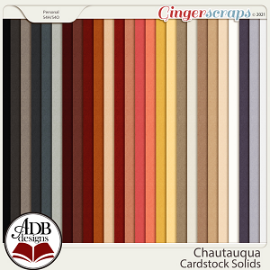 Chautauqua Solid Papers by ADB Designs