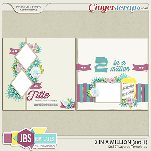 Two In A Million Templates 1 by JB Studio