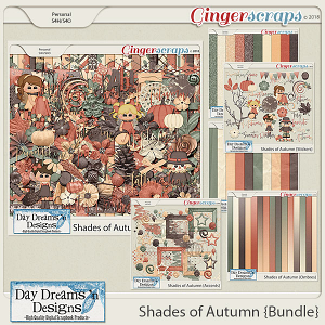 Shades of Autumn {Bundled Collection} by Day Dreams 'n Designs