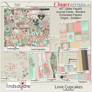 Love Cupcakes Collection by Lindsay Jane