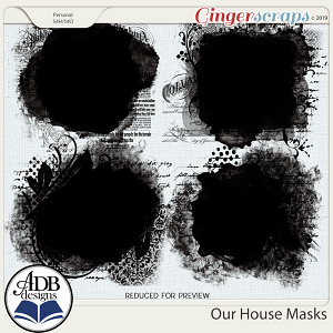 Our House Masks by ADB Designs