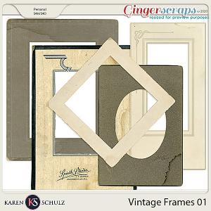 Vintage Frames 01 by Karen Schulz