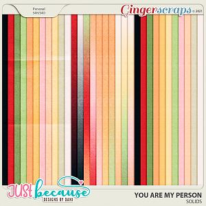 You Are My Person Solids by JB Studio