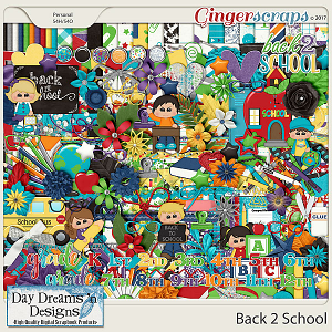 Back 2 School {Kit} by Day Dreams 'n Designs