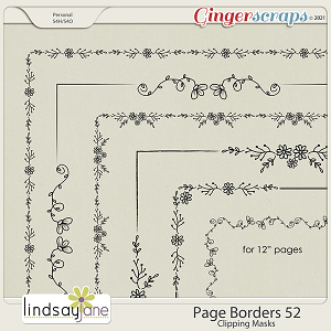 Page Borders 52 by Lindsay Jane