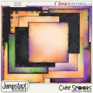 Cute Spooks {Blended Papers}