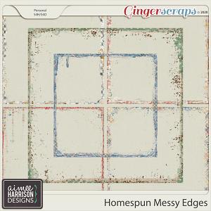 Homespun Messy Edges by Aimee Harrison