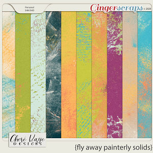 Fly Away Painterly Solids by Chere Kaye Designs