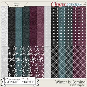 Winter Is Coming - Extra Papers by Connie Prince