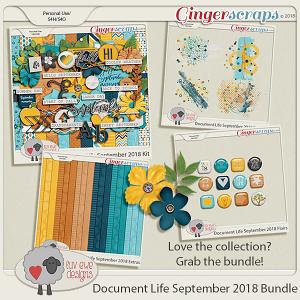 Document Life September 2018 Bundle by Luv Ewe Designs