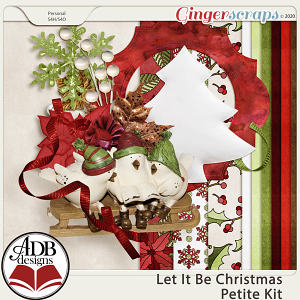 Let It Be Christmas Petite Kit by ADB Designs