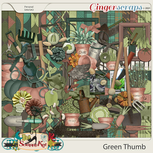 Green Thumb by The Scrappy Kat