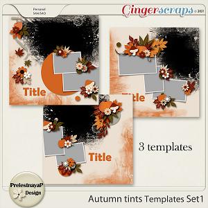 Autumn tints Templates Set1