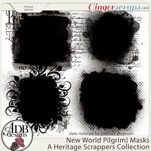 New World Pilgrim Masks by ADB Designs