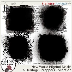 New World Pilgrim Masks by ADB Designs