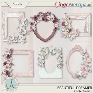 Beautiful Dreamer Cluster Frames by Ilonka's Designs