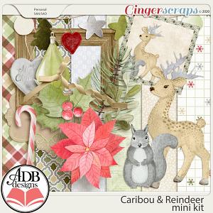 Caribou & Reindeer Mini Kit by ADB Designs