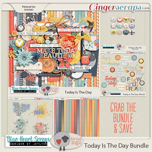 Today Is The Day Bundle by Luv Ewe Designs and Blue Heart Scraps
