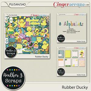 Rubber Ducky BUNDLE by Heather Z Scraps