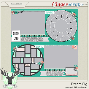 Dream Big by Dear Friends Designs