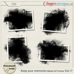 Keep your memories Masks&Frames Vol.18