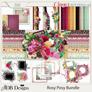 Rosy Posy Bundle by ADB Designs